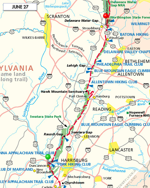 Joe Liles Appalachian Trail Hike  Blog Archive  Trail Report