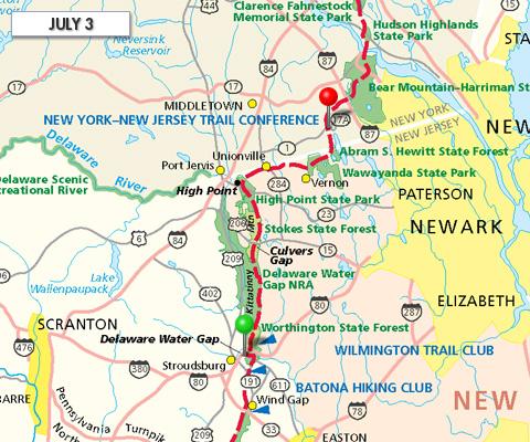 Joe Liles' Appalachian Trail Hike » Trail Report
